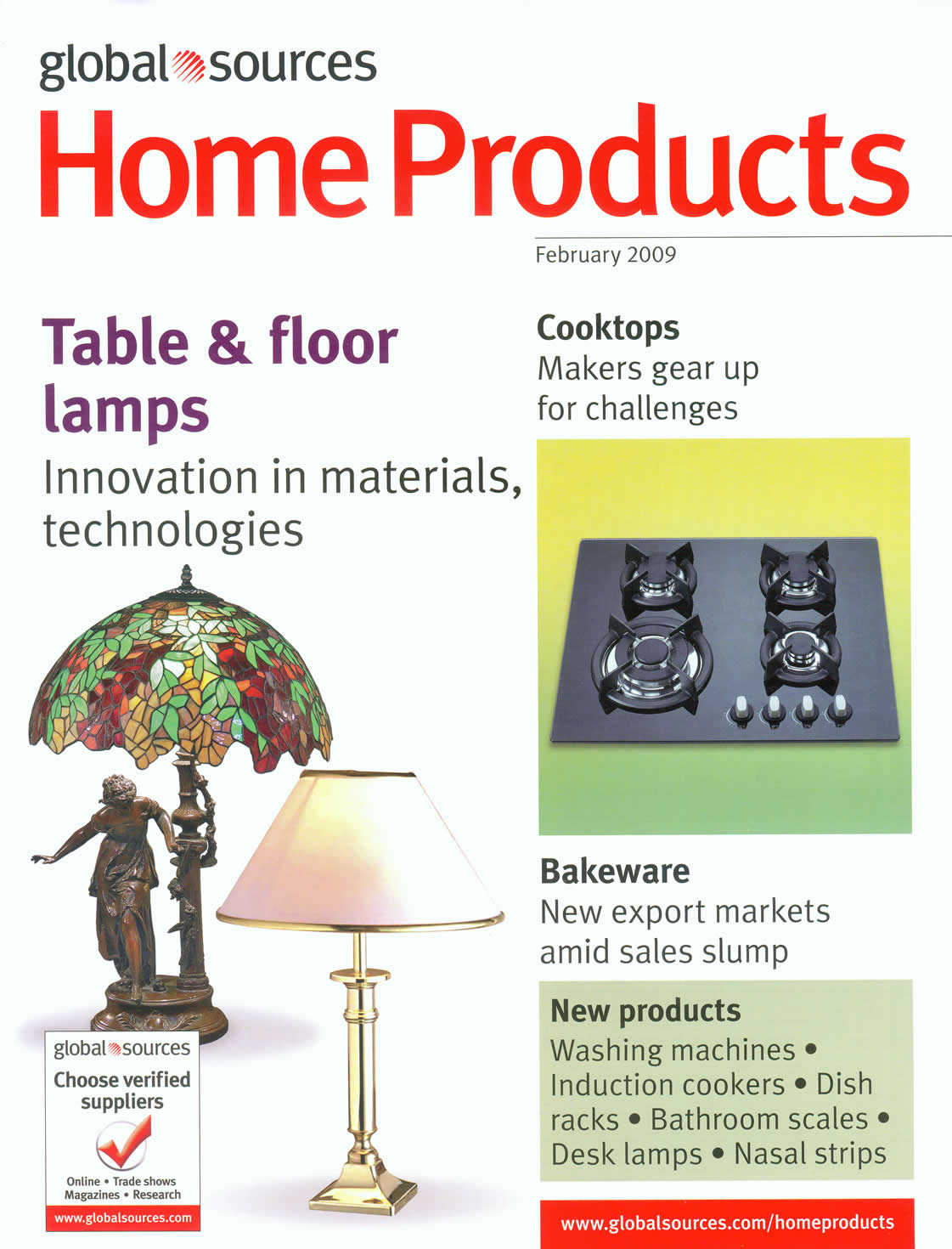 Feb global source print advertisement home products page no 244